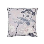 """So17293704 Lotus Garden 18"""" Pillow Lilac By Schumacher Furniture and Accessories 1"""