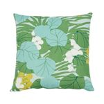 """So17863004 Sea Grapes 18"""" Pillow Palm By Schumacher Furniture and Accessories 1"""