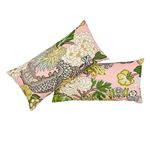So17328018 Chiang Mai Dragon Pillow Blush By Schumacher Furniture and Accessories 3