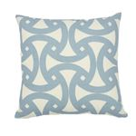 """So17430404 Santorini Print I/O 18"""" Pillow Sky By Schumacher Furniture and Accessories 1"""
