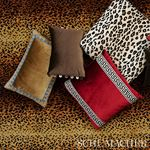 So6819911 Sophia Velvet Pillow Cocoa By Schumacher Furniture and Accessories 3