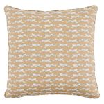 """So17774104 Leaping Leopards 18"""" Pillow Sand By Schumacher Furniture and Accessories 1"""