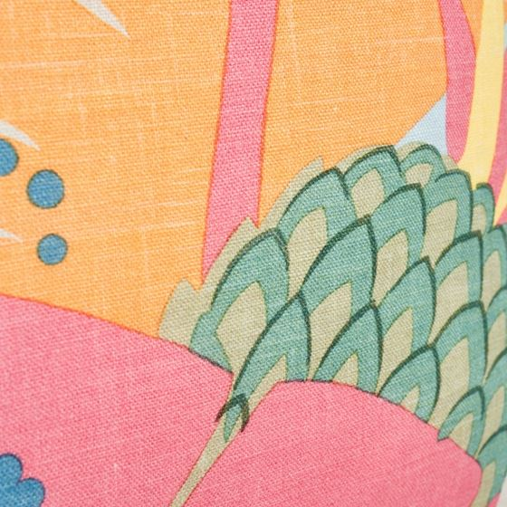 """So17754004 Ananas 18"""" Pillow Tropical By Schumacher Furniture and Accessories 3"""