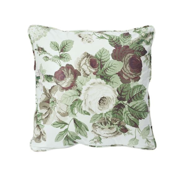 """So17720104 Nancy 18"""" Pillow Grisaille By Schumacher Furniture and Accessories 1"""