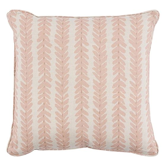 """Sowood00404 Woodperry 18"""" Pillow Pink By Schumacher Furniture and Accessories"""