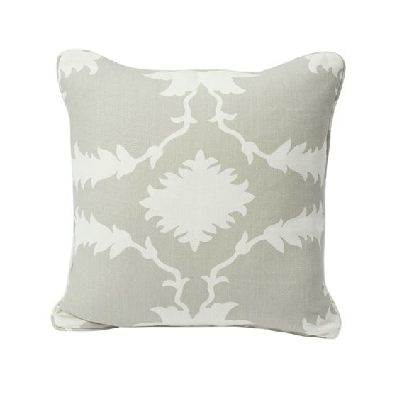 """So17503004 Garden Of Persia 18"""" Pillow Dove By Schumacher Furniture and Accessories 1"""